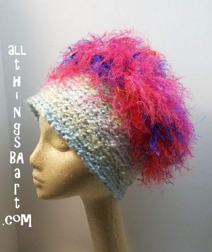 Crochet Warrior Fringe Hat By Ba Chemo Hats All Things Ba Art
